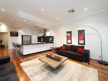 Black living room idea from a real Australian home - Living Area photo 7047281