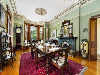 Green dining room idea from a real Australian home - Dining Room photo 7388289