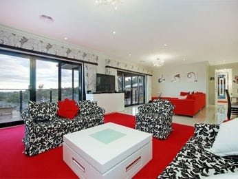 Black living room idea from a real Australian home - Living Area photo 1393024