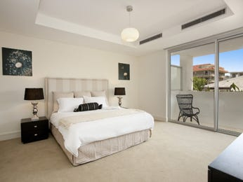Beige bedroom design idea from a real Australian home - Bedroom photo 364046