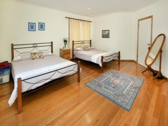 Brown bedroom design idea from a real Australian home - Bedroom photo 308370