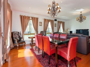 Red dining room idea from a real Australian home - Dining Room photo 1748425