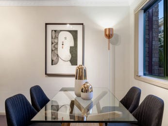 Blue dining room idea from a real Australian home - Dining Room photo 17051661