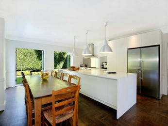 Chandelier in a kitchen design from an Australian home - Kitchen Photo 16443393