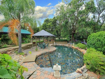 Outdoor living design with fish pond from a real Australian home - Outdoor Living photo 883906