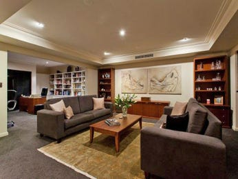 Brown living room idea from a real Australian home - Living Area photo 8908561