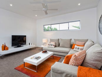 Grey living room idea from a real Australian home - Living Area photo 753805