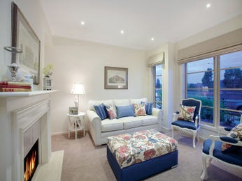 Blue living room idea from a real Australian home - Living Area photo 1354853