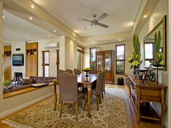 Brown dining room idea from a real Australian home - Dining Room photo 598673
