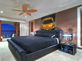 Black bedroom design idea from a real Australian home - Bedroom photo 8704001