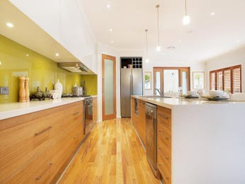 Hardwood in a kitchen design from an Australian home - Kitchen Photo 833165