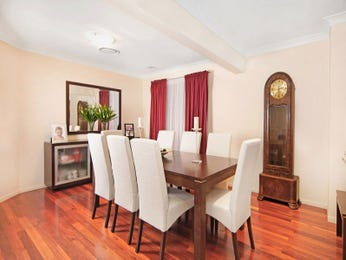 Formal dining room idea with floorboards & bar/wine bar - Dining Room Photo 1412756
