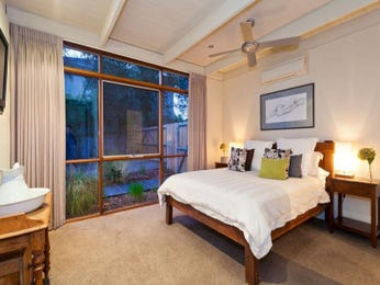 Classic bedroom design idea with carpet & floor-to-ceiling windows using brown colours - Bedroom photo 1440022