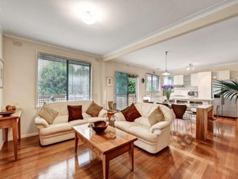 Brown living room idea from a real Australian home - Living Area photo 685597