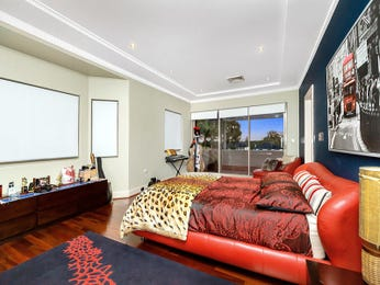 Red bedroom design idea from a real Australian home - Bedroom photo 8505385