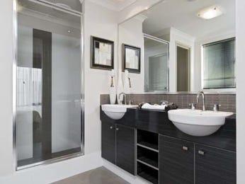 Modern bathroom design with twin basins using ceramic - Bathroom Photo 7029841