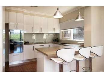 Modern kitchen-dining kitchen design using glass - Kitchen Photo 1172900