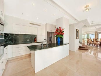 Modern island kitchen design using granite - Kitchen Photo 1206696