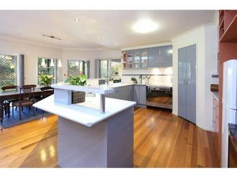 Modern kitchen-dining kitchen design using frosted glass - Kitchen Photo 8168485