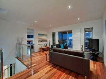 Black living room idea from a real Australian home - Living Area photo 987074