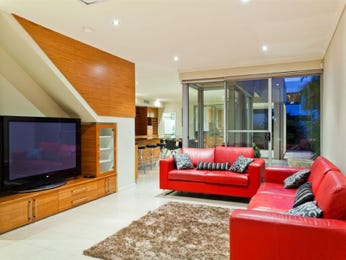 Red living room idea from a real Australian home - Living Area photo 6941637