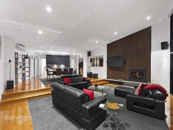 Black living room idea from a real Australian home - Living Area photo 7399893