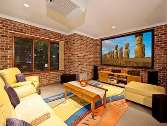 Red living room idea from a real Australian home - Living Area photo 1508492