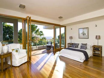 modern bedroom design idea with floorboards balcony using brown colours bedroom photo 1258360 - Bedroom Balcony Designs