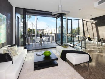 Black living room idea from a real Australian home - Living Area photo 1582948