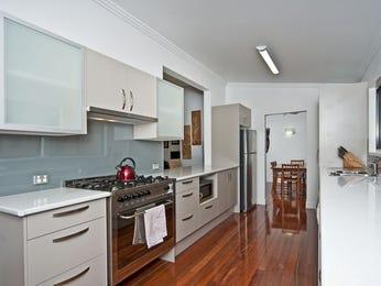 Modern galley kitchen design using floorboards - Kitchen Photo 673152