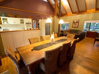 Brown dining room idea from a real Australian home - Dining Room photo 1212006