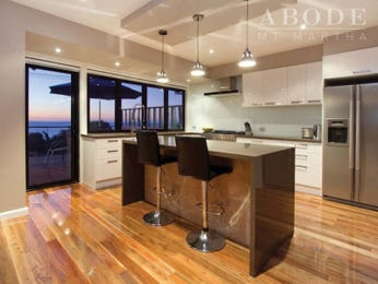 Side-by-side fridge in a kitchen design from an Australian home - Kitchen Photo 7883793