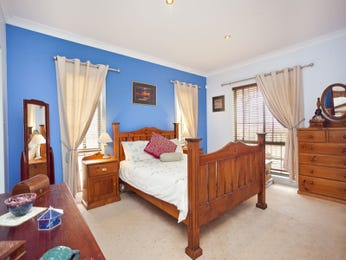 Blue bedroom design idea from a real Australian home - Bedroom photo 856826