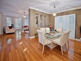 Brown dining room idea from a real Australian home - Dining Room photo 1471737
