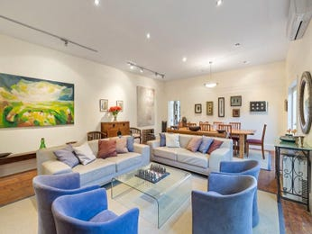 Blue living room idea from a real Australian home - Living Area photo 16075725