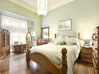 Brown bedroom design idea from a real Australian home - Bedroom photo 1150407