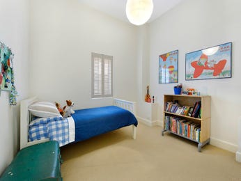 Blue bedroom design idea from a real Australian home - Bedroom photo 967683