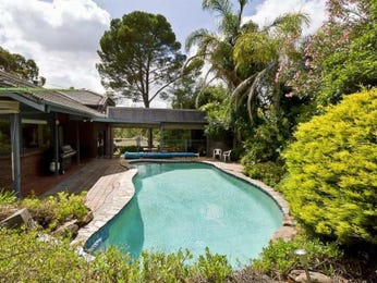 In-ground pool design using brick with decking & ground lighting - Pool photo 1285700