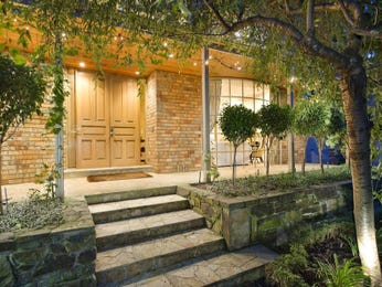 Low maintenance garden design using brick with verandah & decorative lighting - Gardens photo 1159528