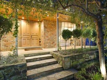 Low maintenance garden design using brick with verandah & decorative lighting - Gardens photo 1159528