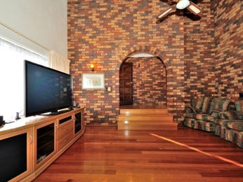 Brown living room idea from a real Australian home - Living Area photo 1535674