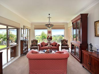 Red living room idea from a real Australian home - Living Area photo 8716401
