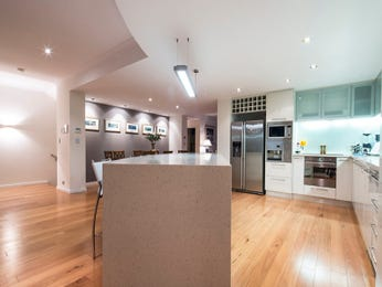 Floorboards in a kitchen design from an Australian home - Kitchen Photo 8421593