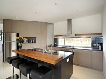 Modern island kitchen design using granite - Kitchen Photo 1413199