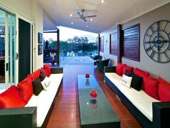 Black living room idea from a real Australian home - Living Area photo 8673169