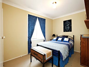 Blue bedroom design idea from a real Australian home - Bedroom photo 1114087