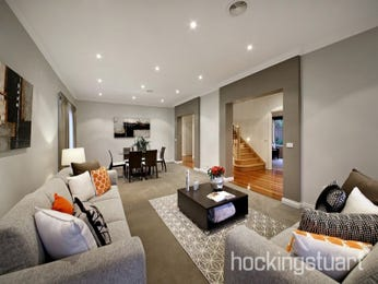 Grey living room idea from a real Australian home - Living Area photo 16517209