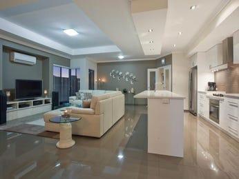 Modern island kitchen design using polished concrete - Kitchen Photo 1574688