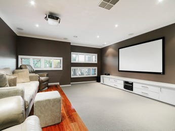 Brown living room idea from a real Australian home - Living Area photo 693102