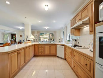 Classic u-shaped kitchen design using hardwood - Kitchen Photo 975578